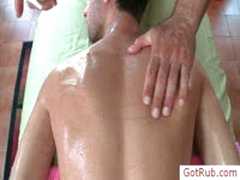 Dude Gets Oiled For Massage By Gotrub