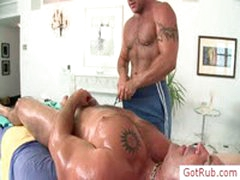 Tatooed Dude Getting Amazing Handjob By Gotrub