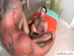 Hairy Dude Getting Anus Fucked Hard By Gotrub