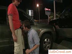 Gay Sucking And Fucking In Public Place By Outincrowd