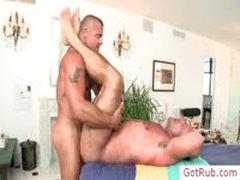 Big Guy Gets Incredible Massage By Gotrub