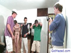 Four Guys Getting Gay Hazed By Gothazed