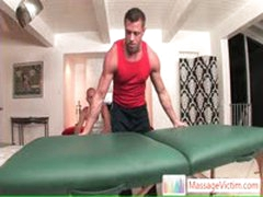 Surpiced Dude Gets Different Massage Than He Thought By Massagevictim