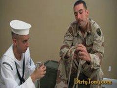 1st Gay Military BJ