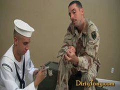 1st Gay Military BJ