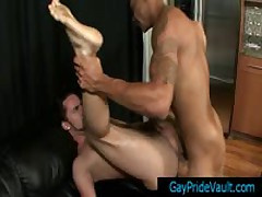 Ebony Stretching Some Anus Real Hard By Gaypridevault
