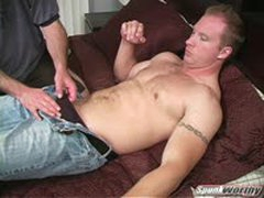 Jerkin' And Suckin Uncut str8 Dude