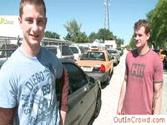 Two Studs About To Have Gay Sex In Public By Outincrowd