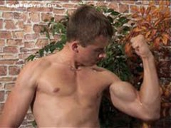 3 Young Boys - Flexing Biceps