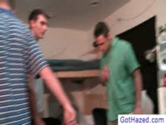 Three Got Gay Hazed Into Nude Wrestling Match By GotHazed