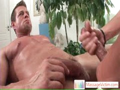 Camdem Blasting His Load All Over His Massage Master By MassageVictim