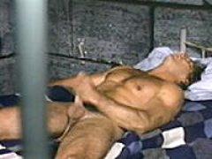 Prisoner Jerks Off In Jail