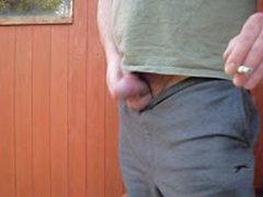 Outdoor Nervous Chubby Wank