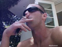 Naked Sunglasses Sneaker Jerk Off