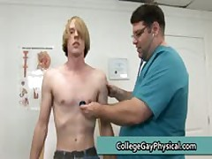 Corey Getting His Schlong And Small Ass Checked By Doktor Three By CollegeGayPhysical