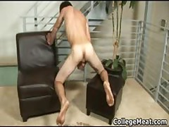 Nick Stuart Busting His Sexy School Weiner Hard And Shoots His Spunk All Over Three By CollegeMeat