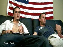 Two Navy Hunks