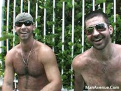 Hairy Muscle Guys Behind The Scenes