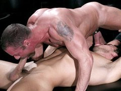 Muscle Studs Bo And Carlos Flip-Flop