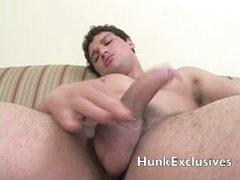 Muscle Hunk Big Cock