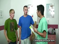 School Men Cory & Mitch Gets Examed 1 By CollegeBFphysical