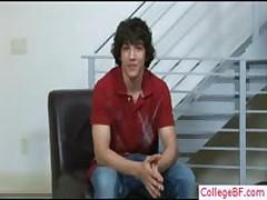 Pretty School Buddy Stripping By Collegebf