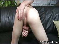 Alex Vaara Masturbating His Pretty Juvenile Dick Three By CollegeMeat