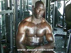 Black Muscle Stud