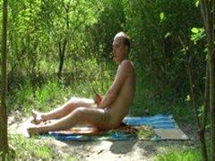 Outdoor Wanking