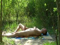 Outdoor Wanking