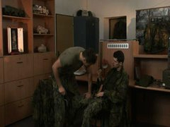 Assfucked By Military Cock