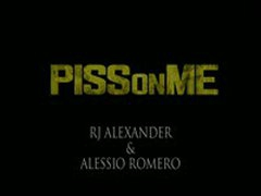 Alessio Romero Piss Soaks RJ Alexander