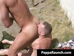 Intense Homo Hard Core Rectum Making Out Homo Flick 1 By PappaRaunch
