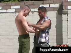 Radical Homo Hard Core Rectum Making Out Homo Clip 1 By PappaRaunch