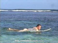 Public Beach Nude Surfer