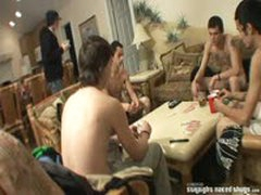 Strip Poker Circle Jerk
