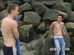 These Gay Surf Novices Would Rather Bareback Fuck