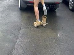 Hilarious Naked Man!