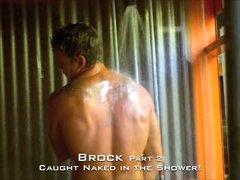 Caught Straight Jock Shower