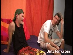 Sonny'S First Gay BJ