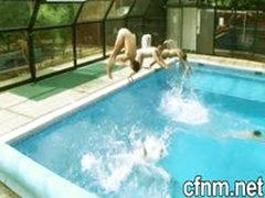 Schoolboys Naked Swim