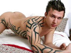Tattooed Tribal Stud Sam