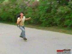Skater Dudes Three-Some Pt. A