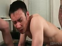 Asian Pounded By Big Dick