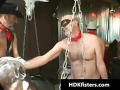 Homo Cowboys In Great Insane Homo Fisting Videos 3 By HDKfisters