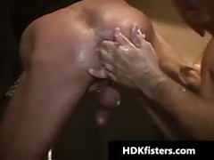 Homo Bro Getting His Small Arse Fisted 1 By HDKfisters