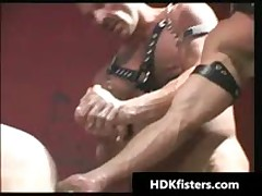 Impossible Homosexual Hard Core Butthole Fisting Videos 1 By HDKfisters
