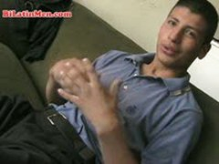 Hot Latin Peru An Papi With A Big Uncut Verga, See Him In Action.