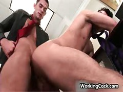 Seth Roberts Fucks And Sucks In Office 7 By WorkingCock
