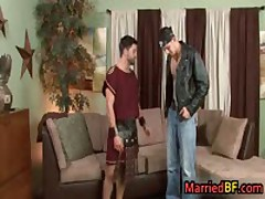 Pretty Married Buddy Getting His First Gay Meatstick 10 By MarriedBF